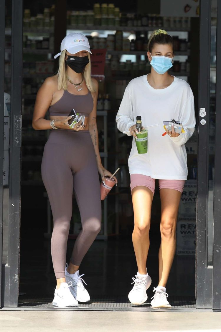 Hailey Baldwin Spotted Outside Earth Bar In West Hollywood