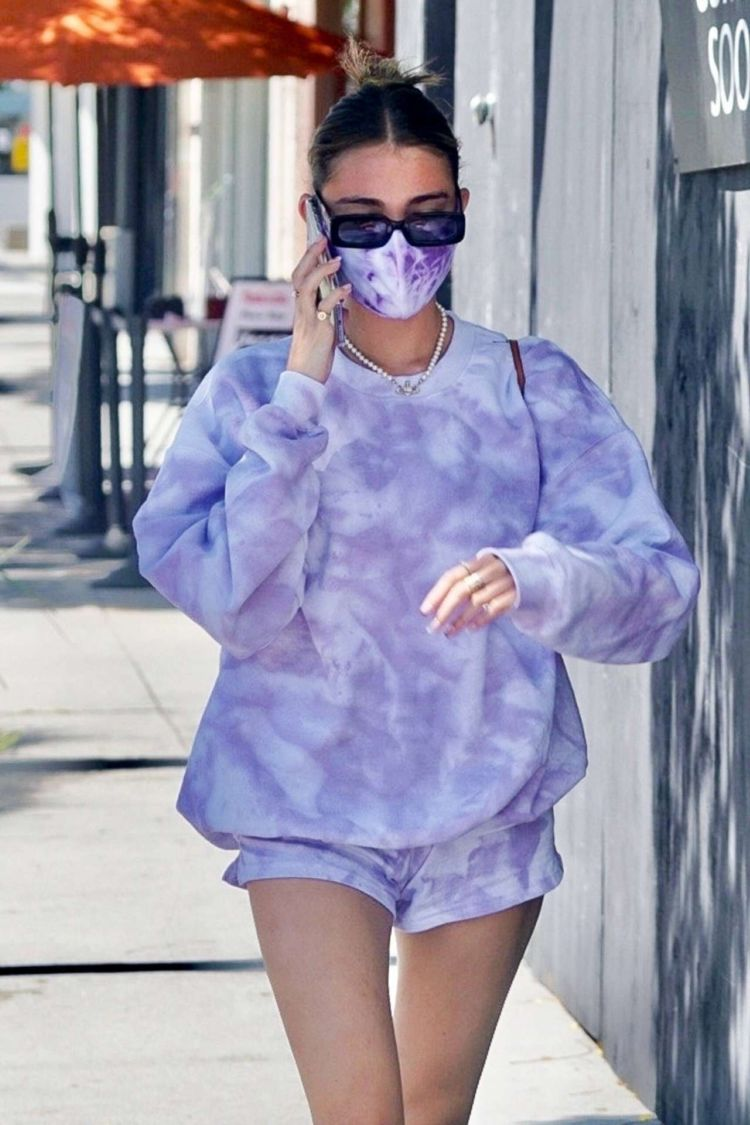 Madison Beer Candids In Shorts Out In Beverly Hills