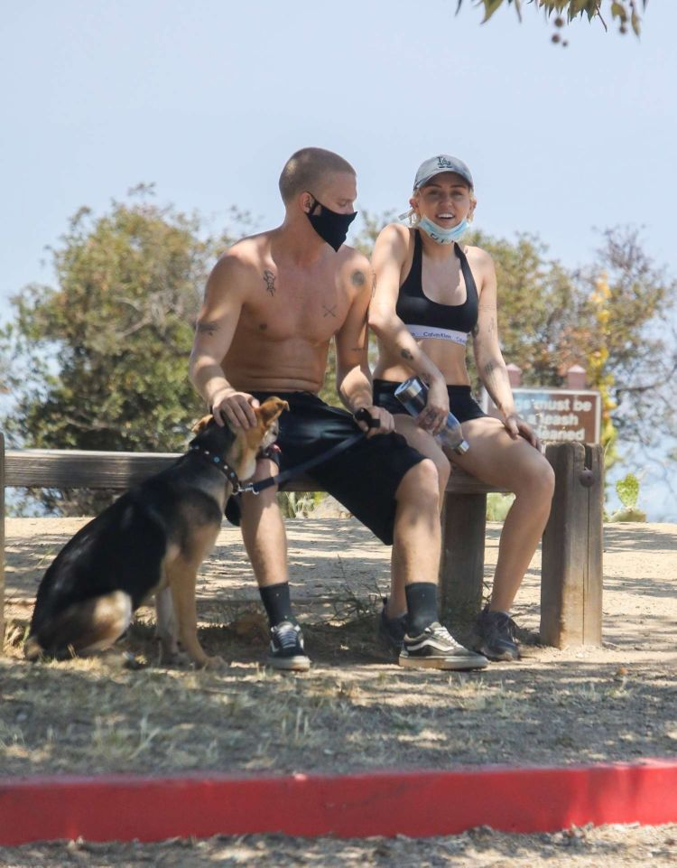 Miley Cyrus Spotted Hiking With Cody Simpson In Los Angeles