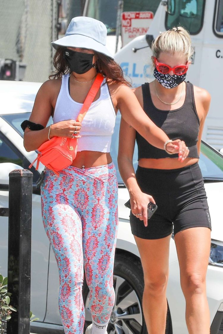 Vanessa Hudgens Out And About Candids In Hollywood