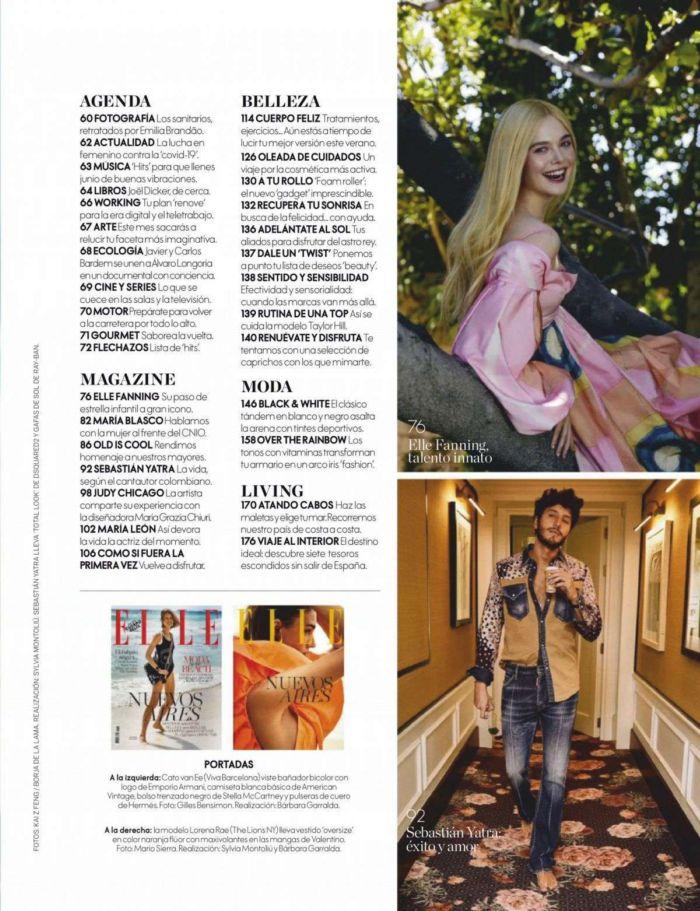 Beautiful Elle Fanning For Elle Magazine Spain (June 2020)