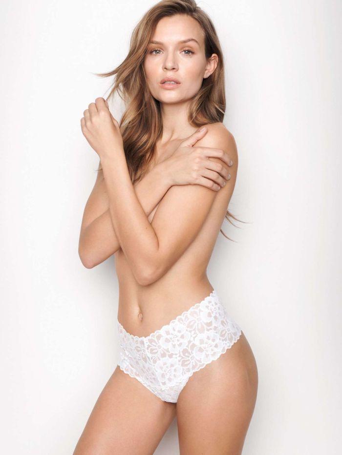 Josephine Skriver Showcasing Victoria's Secret Lingerie Collection 2020